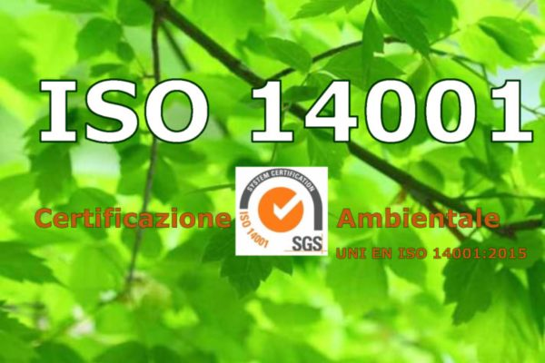 SISTEC E' AZIENDA CERTIFICATA UNI EN ISO 14001:2015.