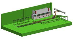 APRILE 2010 presentazione di un impianto di piegatura per lattoneria(isola_robotizzata_lattoneria)